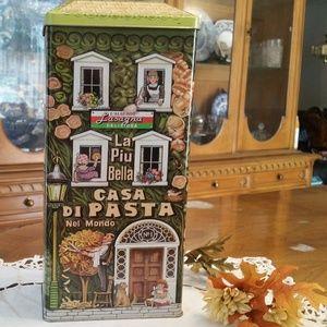 Vintage Lindietro La Piu Bella Casa Di Pasta Tin